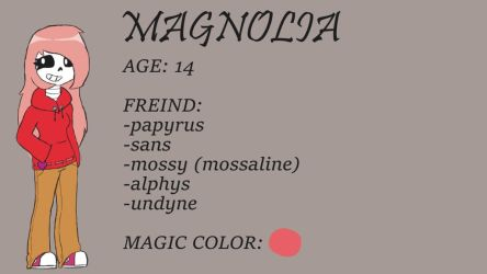 Magnolia (for my freind FRESHY) by kittyscittles