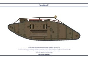 Tank Mk IV Female by WS-Clave