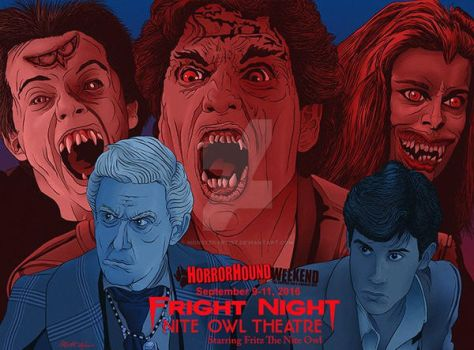 Fright Night by monsterartist
