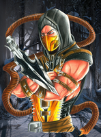 GET OVER HERE! Scorpion MKX by Shiranui94