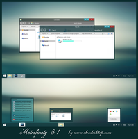 Metrofinaty Theme Windows 8.1 by Cleodesktop