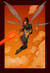 Wasp Avengers by LuizCastro