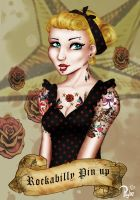 Rockabilly Pin up by Lady-Psyche