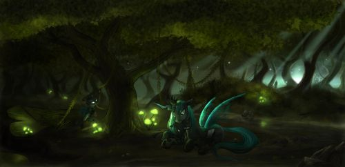 In the Everfree Forest by Devinian
