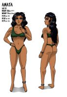 Jennie: Amata Character Sheet by Lewdster