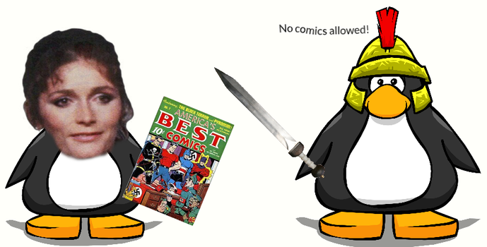 No comics allowed! by Sonicfanboie