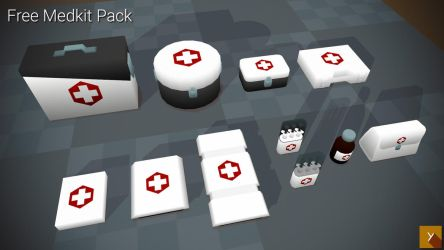 [Free] Medkits by Yughues