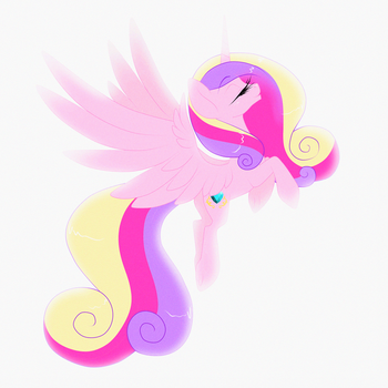 Princess Cadence by Sugarcup91