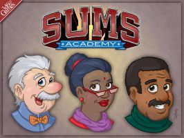 Sums Academy: The Professors by SuperEdco