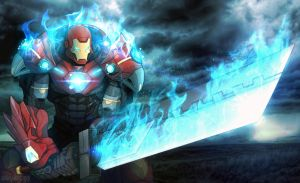 The Return of TOTAL ULTIMATE IRON MAN by shamserg