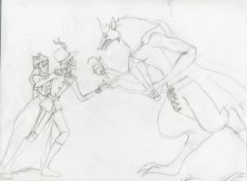 Nutcracker vs the Mouse King by fatalis17