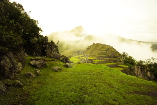 Machu Picchu at dawn by NorthernWave25
