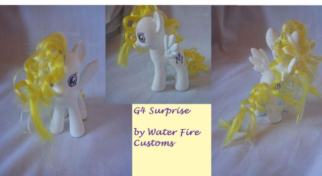 My Little Pony  G4 Custom Surprise by WaterFireCustoms