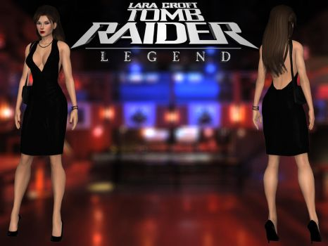 Tomb Raider Legend: Party Dress Outfit by lady-zomkie