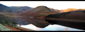 Haweswater in Autumn by crowthius