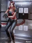 Claire Redfield Corridor by Moonarc