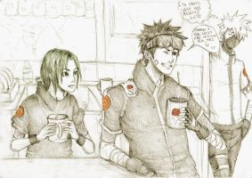 Always late by Sanzo-Sinclaire