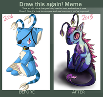 Draw this again - Zollie by kittehmeow