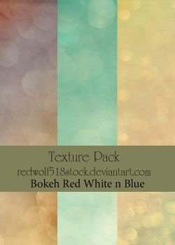Texture Pack Bokeh Red White by redwolf518stock