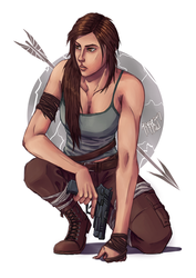 Tomb Raider by JoyceW-Art