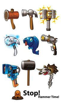 Hammers by Cykique