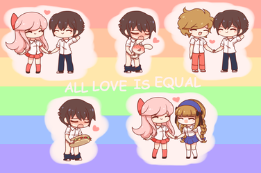 All Love is Equal by Koki-arts