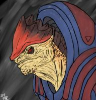 The Krogan Battlemaster by Karlika