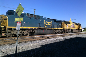 Union Pacific and CSX Locomotives 3 by WillM3luvTrains