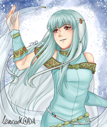 FE7 - Receive the Blessings of Water by levenark