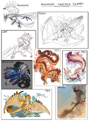 Another Sketch Dump by Arukanoda