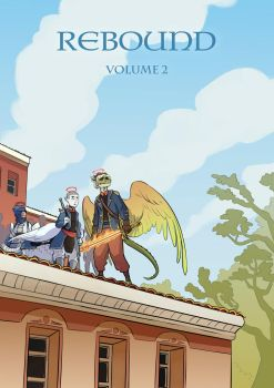 Rebound Vol 2 script cover by TheScatterbrain