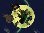 Halloween 2015: Machthulu Sky Pillage by silhouette345