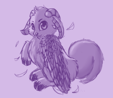 Fly Fluffy by Evelynroo