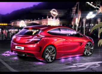 Opel GTC by SaphireDesign