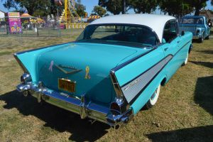 1957 Chevrolet Bel-Air Sedan VIII by Brooklyn47