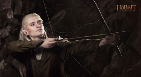 Legolas 1 - The Hobbit cosplay (test) by LuckyStrikeCosplay
