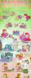 Mabel and the Swamp Dragon by SammyTorres