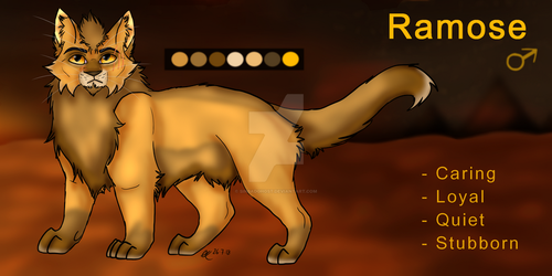 Ramose Character Reference by Sinbadghost