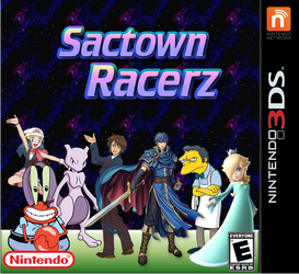 Sactown Racerz 3D by Galaxy-Afro
