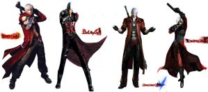 Dante Evolution (In DMC) (Part 1) by Rehman-1999
