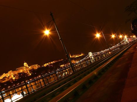 Budapest at night II by hungarians