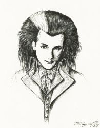 Dave Vanian #2 by MouseBorg