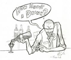 LoL: How About a Drink? by Treelub