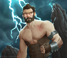 Storm Warrior by Monsieur-Beefy