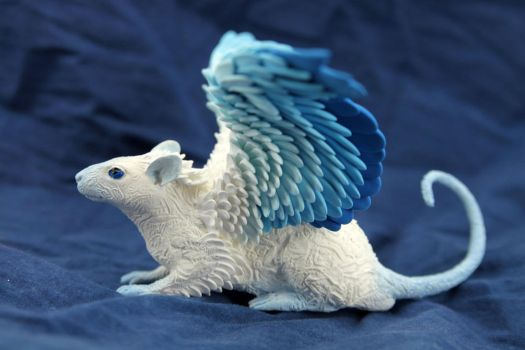 Frost Ghost rat by hontor
