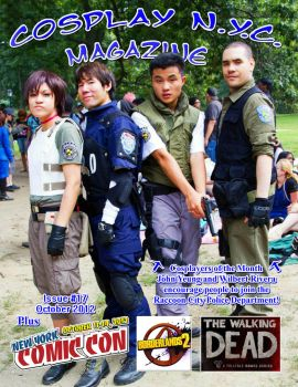 CosplayNYC Magazine October 2012 by CosPlayNYC