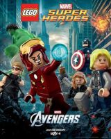 Lego Avengers Poster by ict1099