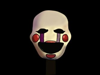 The Puppet from FNAF by TheErrorArtist