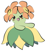 Bellossom Coloured by ensnarings