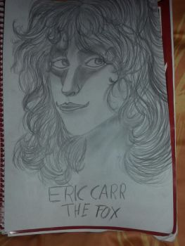 Eric Carr with The Fox Makeup by DevilMayCry003